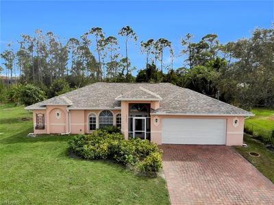 Bonita Springs Single Family Home For Sale: 10440 Strike Ln