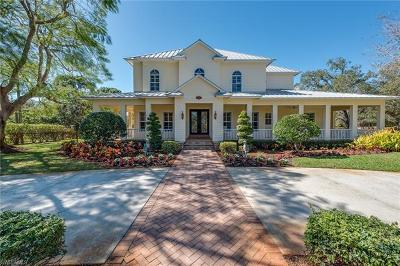 Naples Single Family Home For Sale: 407 West St