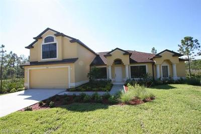 Naples Single Family Home For Sale: 3460 NE 43rd Ave