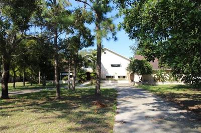Cape Coral Single Family Home For Sale: 12900 Eagle Rd