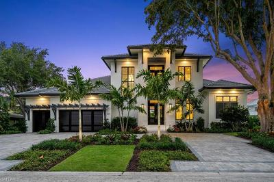Naples FL Single Family Home For Sale: $3,700,000