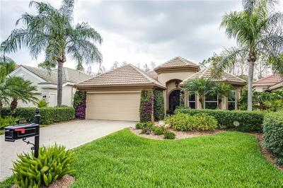 Naples Single Family Home For Sale: 9166 Troon Lakes Dr
