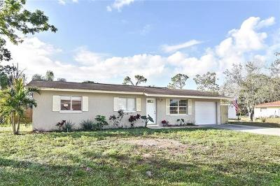 Fort Myers Single Family Home For Sale: 13625 Marquette Blvd
