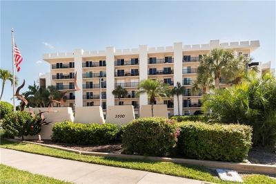 Condo/Townhouse For Sale: 3500 N Gulf Shore Blvd #107