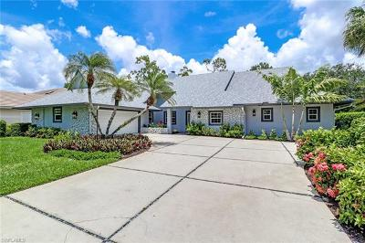 Naples Single Family Home For Sale: 114 S Edgemere Way