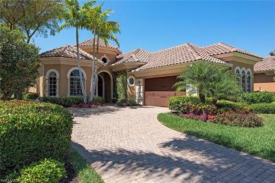 Naples Single Family Home For Sale: 14854 Bellezza Ln