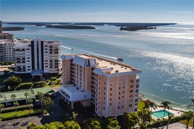 Dela Park Place Condo/Townhouse For Sale: 1020 S Collier Blvd #707