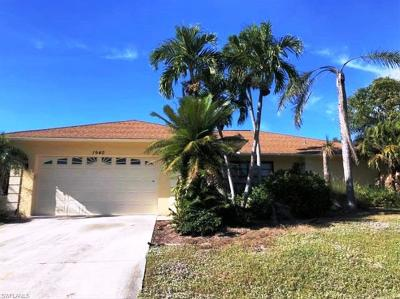 Marco Island Single Family Home For Sale: 1940 Sheffield Ave