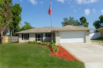 Cape Coral Single Family Home For Sale: 1213 SW 14th Ter
