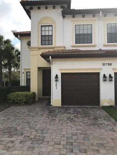 Fort Myers Condo/Townhouse For Sale: 15790 Portofino Springs Blvd #101
