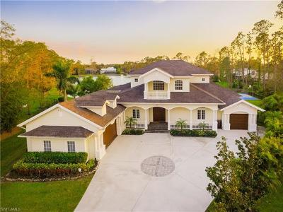 Naples Single Family Home For Sale: 6261 Cypress Hollow Way