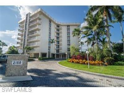 Condo/Townhouse For Sale: 2150 N Gulf Shore Blvd #611