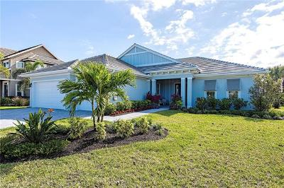 Naples Single Family Home For Sale: 14848 Dockside Ln