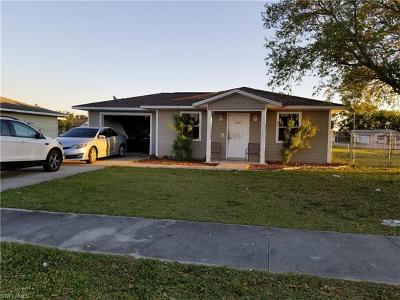 Fort Myers Single Family Home For Sale: 3702 Minnesota Dr