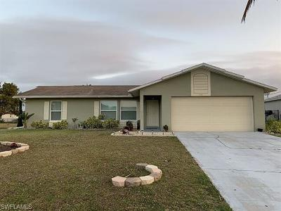Cape Coral Single Family Home For Sale: 1419 SW 38th Ter