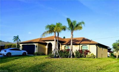 Cape Coral Single Family Home For Sale: 225 NE 17th Ave