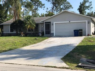 Fort Myers Single Family Home For Sale: 8088 Harrisburg Dr