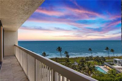 Naples Condo/Townhouse For Sale: 4901 N Gulf Shore Blvd #802