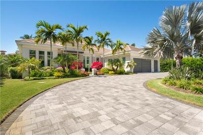 Naples Single Family Home For Sale: 4141 Belair Ln