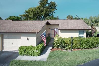 Naples Single Family Home For Sale: 4167 Lakewood Blvd #E-26