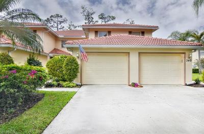 Naples Single Family Home For Sale: 340 Robin Hood Cir #102