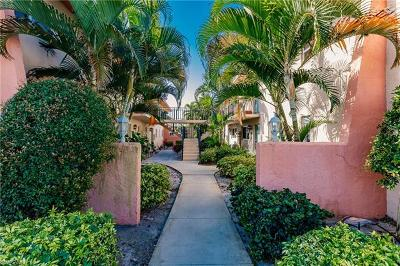 Naples Condo/Townhouse For Sale: 185 Palm Dr #H