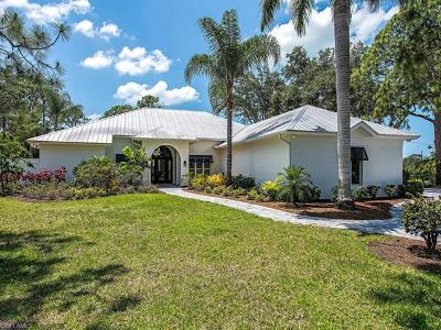 Naples Single Family Home For Sale: 194 Mahogany Dr