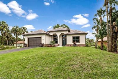 Naples Single Family Home For Sale: 1402 SW 11th St