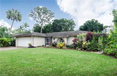 Naples Single Family Home For Sale: 4312 Parrot Ave