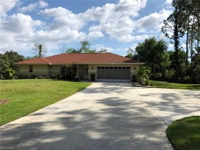 Naples Single Family Home For Sale: 3530 SW 7th Ave