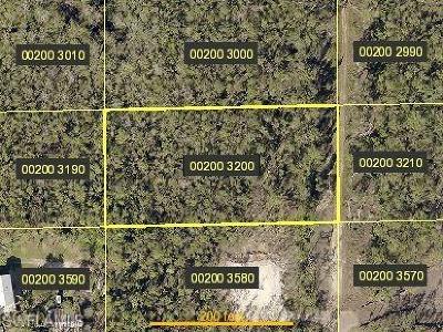 Bonita Springs Residential Lots & Land For Sale: 24310 Rocky Rd