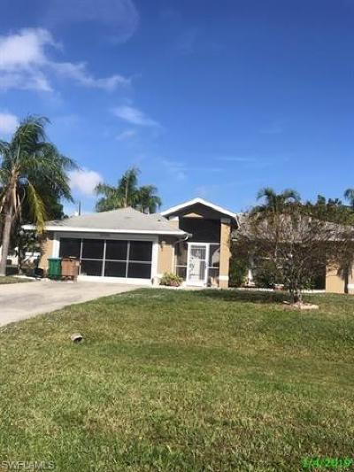 Cape Coral Single Family Home For Sale: 1711 SE 20th St