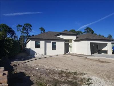 Bonita Springs Single Family Home For Sale: 3554 McComb Ln