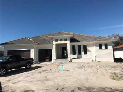 Marco Island Single Family Home For Sale: 160 Delbrook Way