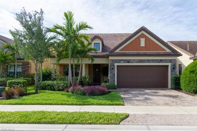 Naples Single Family Home For Sale: 16322 Winfield Ln