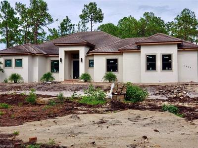 Naples Single Family Home For Sale: 1824 SW 17th St
