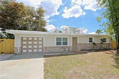Fort Myers Single Family Home For Sale: 3918 Edgewood Ave