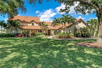 Naples Single Family Home For Sale: 4823 S Pond Apple Dr