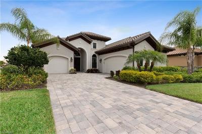 Naples Single Family Home For Sale: 7329 Lantana Way