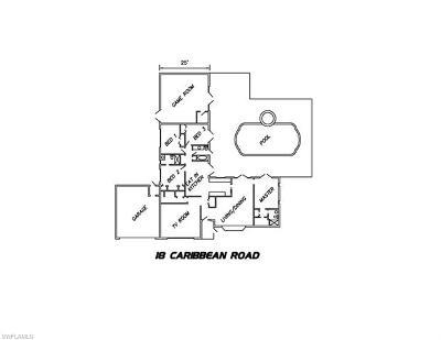 Single Family Home For Sale: 18 Caribbean Rd