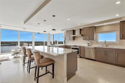 Condo/Townhouse For Sale: 4031 N Gulf Shore Blvd #9E