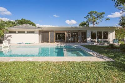 Naples Single Family Home For Sale: 417 E Cypress Way