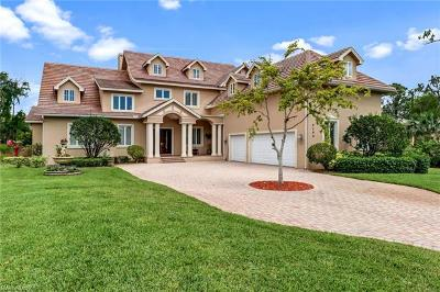 Naples Single Family Home For Sale: 9196 The Ln