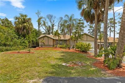 Naples Single Family Home For Sale: 2930 NW 6th St