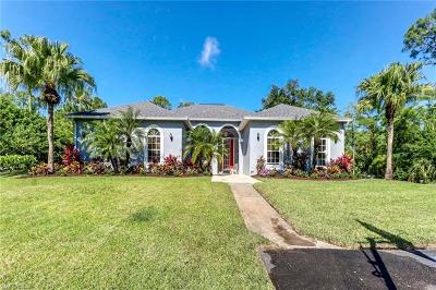 Naples Single Family Home For Sale: 481 SW 23rd St
