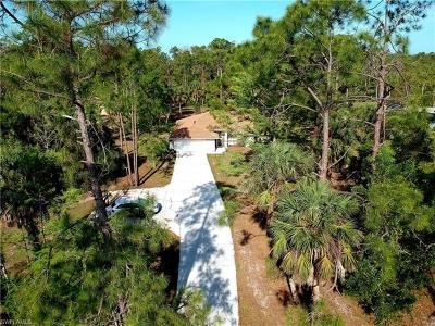 Naples Single Family Home For Sale: 2091 SW 19th St