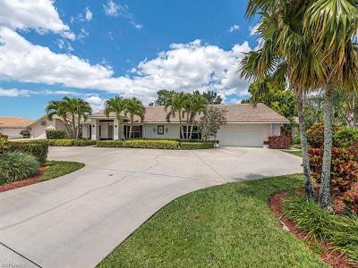 Naples Single Family Home For Sale: 214 Palmetto Dunes Cir