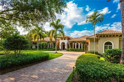 Naples Single Family Home For Sale: 12171 Colliers Reserve Dr