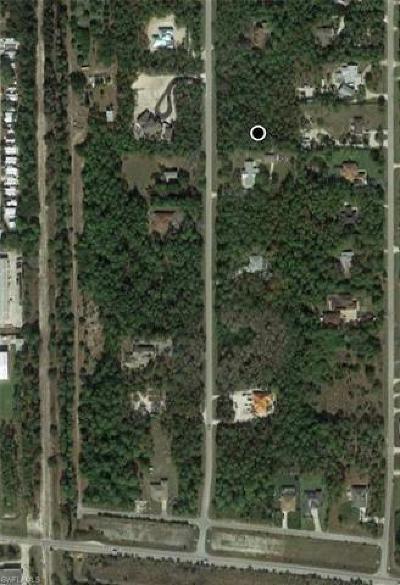 Bonita Springs Residential Lots & Land For Sale: 24543 Red Robin Dr