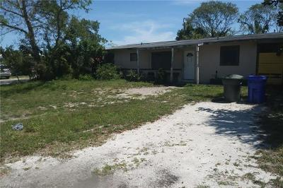 Fort Myers Single Family Home For Sale: 2550 Hunter Ter